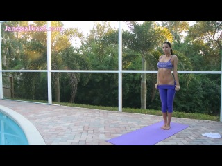 Hot Yoga Girl Outdoors