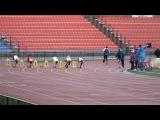 Финал бега на 100 метров среди юношей на областной спартакиаде учащихся 2013 л.от Р.Х.